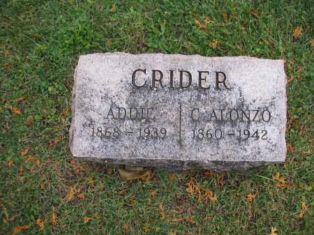 CRIDER, C. ALONZO - Union County, Ohio | C. ALONZO CRIDER - Ohio Gravestone Photos