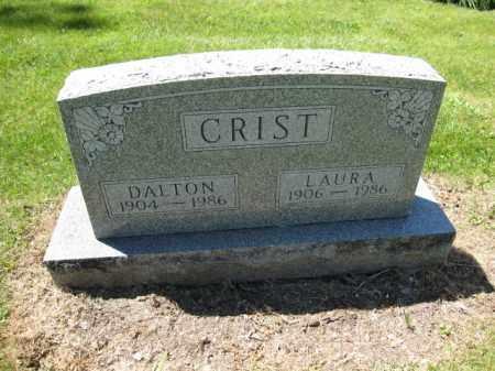 CRIST, DALTON - Union County, Ohio   DALTON CRIST - Ohio Gravestone Photos