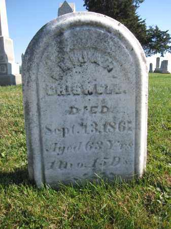 CRISWELL, ELIJAH - Union County, Ohio | ELIJAH CRISWELL - Ohio Gravestone Photos