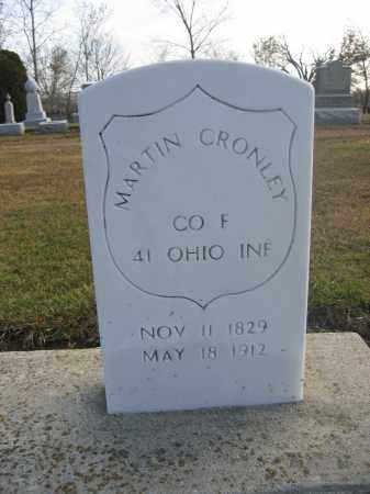 CRONLEY, MARTIN - Union County, Ohio   MARTIN CRONLEY - Ohio Gravestone Photos
