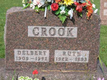 CROOK, RUTH - Union County, Ohio   RUTH CROOK - Ohio Gravestone Photos