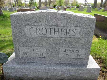 CROTHERS, FRED H. - Union County, Ohio | FRED H. CROTHERS - Ohio Gravestone Photos