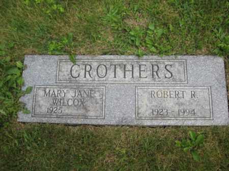 CROTHERS, ROBERT R. - Union County, Ohio | ROBERT R. CROTHERS - Ohio Gravestone Photos