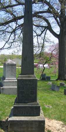 CROTINGER, SARAH E. - Union County, Ohio | SARAH E. CROTINGER - Ohio Gravestone Photos