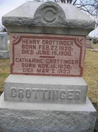 CROTTINGER, HENRY - Union County, Ohio | HENRY CROTTINGER - Ohio Gravestone Photos