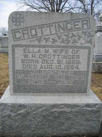CROTTINGER, BLANCHE - Union County, Ohio | BLANCHE CROTTINGER - Ohio Gravestone Photos