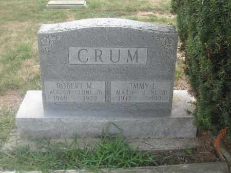 CRUM, ROBERT M. - Union County, Ohio | ROBERT M. CRUM - Ohio Gravestone Photos
