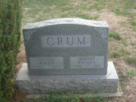 CRUM, WILLIE - Union County, Ohio | WILLIE CRUM - Ohio Gravestone Photos