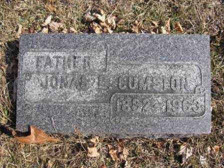 CUMSTON, JONAS E. - Union County, Ohio   JONAS E. CUMSTON - Ohio Gravestone Photos