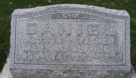 DANIEL, ALFRED W. - Union County, Ohio | ALFRED W. DANIEL - Ohio Gravestone Photos