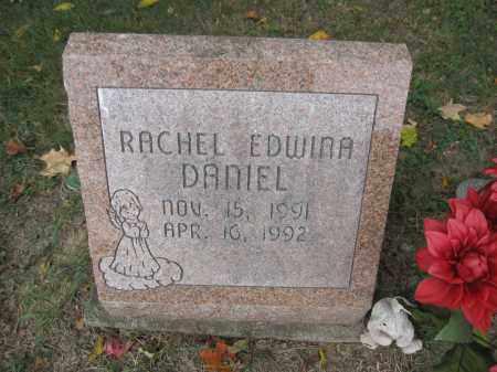 DANIEL, RACHEL EDWINA - Union County, Ohio   RACHEL EDWINA DANIEL - Ohio Gravestone Photos