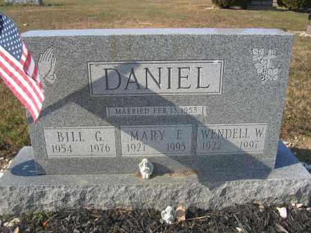 DANIEL, BILL G. - Union County, Ohio | BILL G. DANIEL - Ohio Gravestone Photos
