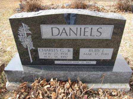DANIELS, RUBY J. - Union County, Ohio | RUBY J. DANIELS - Ohio Gravestone Photos