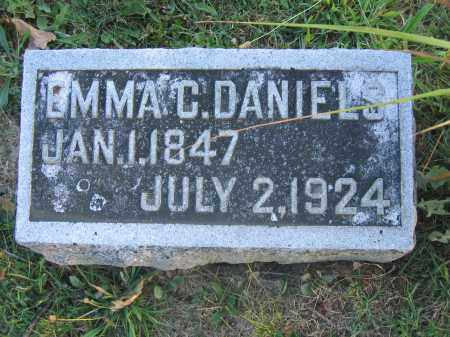 DANIELS, EMMA C. - Union County, Ohio | EMMA C. DANIELS - Ohio Gravestone Photos