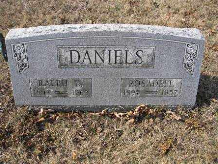 DANIELS, ROSADELL - Union County, Ohio | ROSADELL DANIELS - Ohio Gravestone Photos