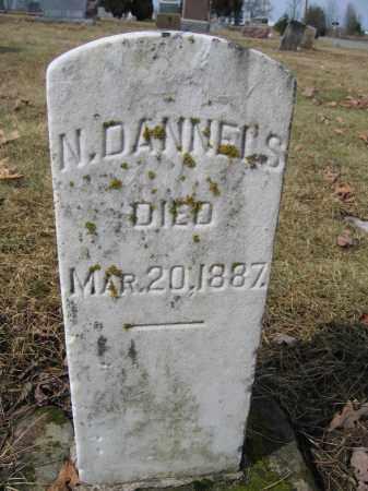 DANIELS, NEWTON - Union County, Ohio | NEWTON DANIELS - Ohio Gravestone Photos