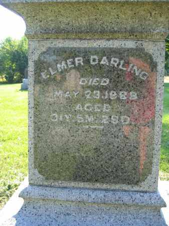 DARLING, ELMER - Union County, Ohio   ELMER DARLING - Ohio Gravestone Photos