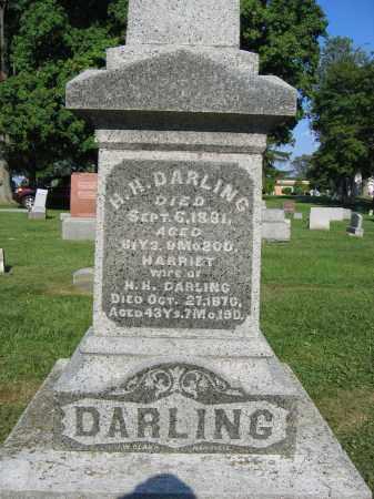 DARLING, H.H. - Union County, Ohio | H.H. DARLING - Ohio Gravestone Photos