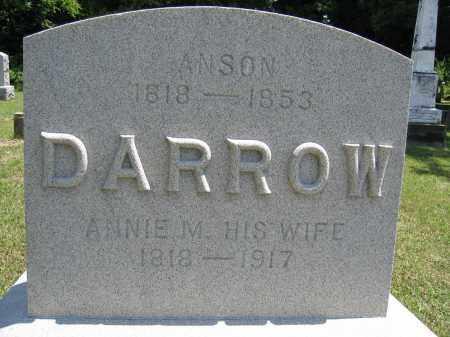 DARROW, ANNIE - Union County, Ohio | ANNIE DARROW - Ohio Gravestone Photos