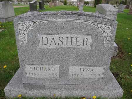 DASHER, LENA - Union County, Ohio | LENA DASHER - Ohio Gravestone Photos