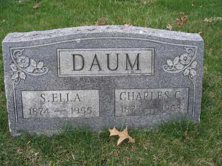 DAUM, S. ELLA - Union County, Ohio | S. ELLA DAUM - Ohio Gravestone Photos