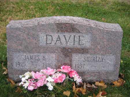 DAVIE, SHIRLEY - Union County, Ohio | SHIRLEY DAVIE - Ohio Gravestone Photos