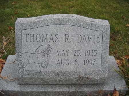 DAVIE, THOMAS R. - Union County, Ohio | THOMAS R. DAVIE - Ohio Gravestone Photos