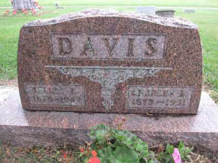 DAVIS, CHARLES E - Union County, Ohio   CHARLES E DAVIS - Ohio Gravestone Photos