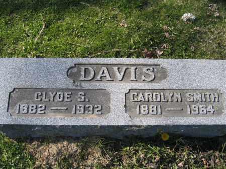 DAVIS, CAROLYN - Union County, Ohio | CAROLYN DAVIS - Ohio Gravestone Photos