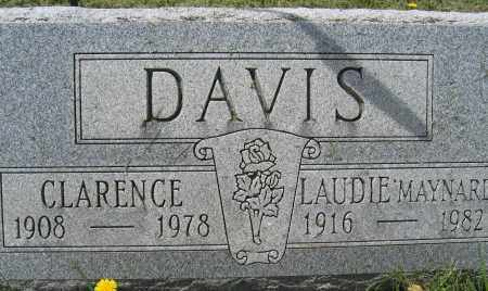 DAVIS, LAUDIE MAYNARD - Union County, Ohio | LAUDIE MAYNARD DAVIS - Ohio Gravestone Photos