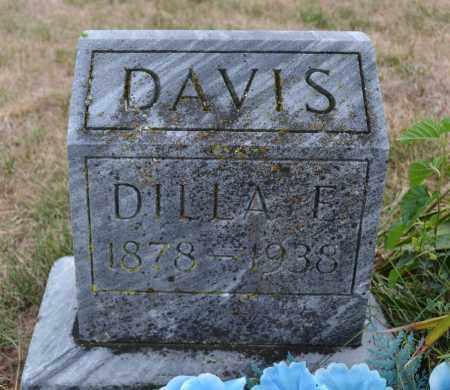 DAVIS, DILLA E. - Union County, Ohio   DILLA E. DAVIS - Ohio Gravestone Photos