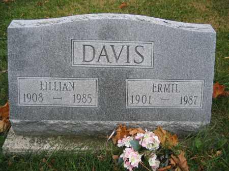 DAVIS, ERMIL - Union County, Ohio | ERMIL DAVIS - Ohio Gravestone Photos
