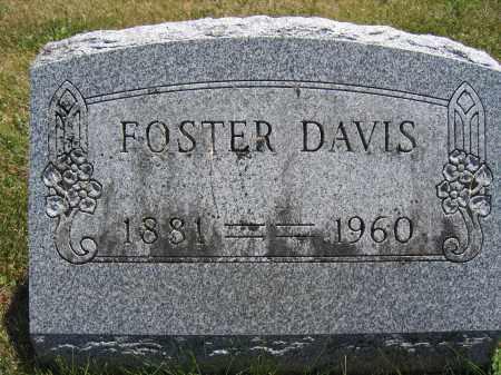 DAVIS, FOSTER - Union County, Ohio   FOSTER DAVIS - Ohio Gravestone Photos