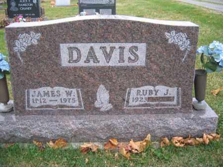 DAVIS, RUBY J. - Union County, Ohio | RUBY J. DAVIS - Ohio Gravestone Photos
