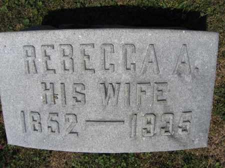 DAVIS, REBECCA A. - Union County, Ohio | REBECCA A. DAVIS - Ohio Gravestone Photos