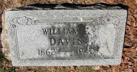 DAVIS, WILLIAM E. - Union County, Ohio | WILLIAM E. DAVIS - Ohio Gravestone Photos