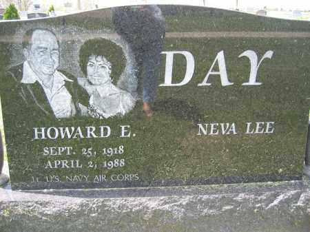 DAY, HOWARD E. - Union County, Ohio | HOWARD E. DAY - Ohio Gravestone Photos