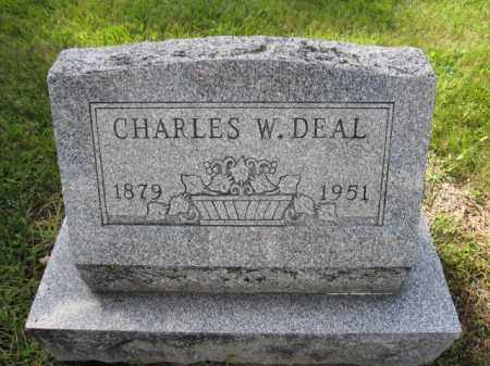 DEAL, CHARLES W. - Union County, Ohio | CHARLES W. DEAL - Ohio Gravestone Photos