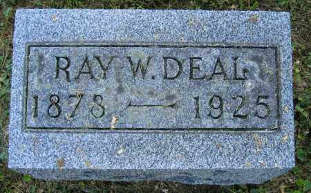 DEAL, RAY W. - Union County, Ohio   RAY W. DEAL - Ohio Gravestone Photos