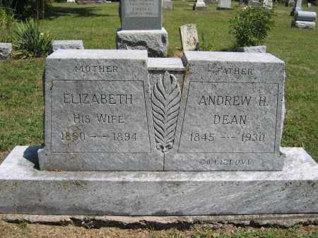 DEAN, ELIZABETH - Union County, Ohio | ELIZABETH DEAN - Ohio Gravestone Photos