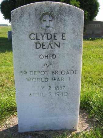 DEAN, CLYDE E. - Union County, Ohio | CLYDE E. DEAN - Ohio Gravestone Photos