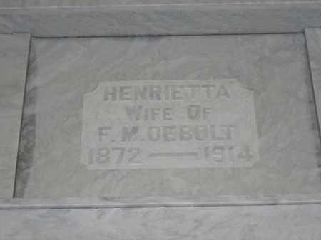 DEBOLT, HENRIETTA - Union County, Ohio | HENRIETTA DEBOLT - Ohio Gravestone Photos