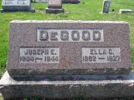 DEGOOD, ELLA C. - Union County, Ohio | ELLA C. DEGOOD - Ohio Gravestone Photos