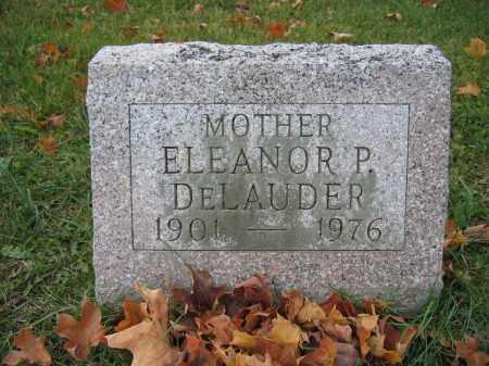 DELAUDER, ELEANOR P. - Union County, Ohio | ELEANOR P. DELAUDER - Ohio Gravestone Photos