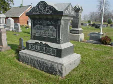 DELLINGER, JOHN M. - Union County, Ohio | JOHN M. DELLINGER - Ohio Gravestone Photos