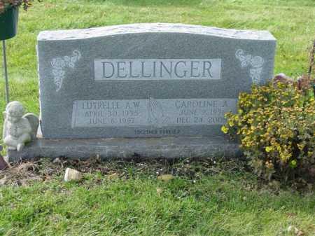 DELLINGER, LUTRELLE A.W. - Union County, Ohio   LUTRELLE A.W. DELLINGER - Ohio Gravestone Photos