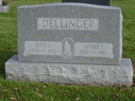 DELLINGER, LUTHER C - Union County, Ohio | LUTHER C DELLINGER - Ohio Gravestone Photos