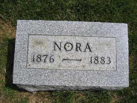 DENEENE, NORA - Union County, Ohio | NORA DENEENE - Ohio Gravestone Photos