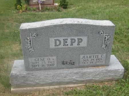 DEPP, GENE O. - Union County, Ohio | GENE O. DEPP - Ohio Gravestone Photos