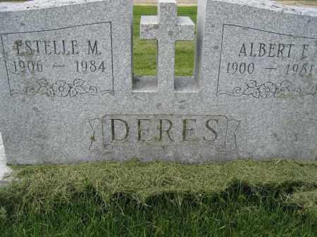 DERES, ESTELLE M. - Union County, Ohio | ESTELLE M. DERES - Ohio Gravestone Photos